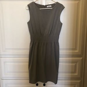 Grey Calvin Klein business dress 6